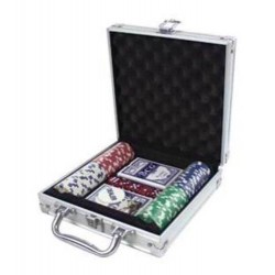 100 Piece Poker Set - Casino Style 11.5g Chips