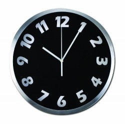 Wall Clock New York Gift Co. Analog Display, Battery Operated