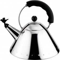 Alessi 9093 Stove Top Whistling Bird Kettle by Michael Graves - RRP £109