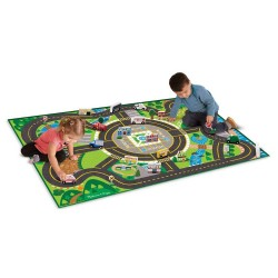 Melissa & Doug. Jumbo Roadway Play Set